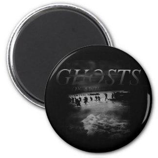 Ghosts Of World War II 6 Cm Round Magnet