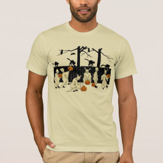 Ghosts on Parade Vintage Halloween Shirt