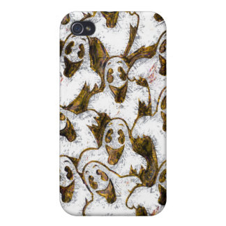 GHOSTS SAY BOO! COVERS FOR iPhone 4