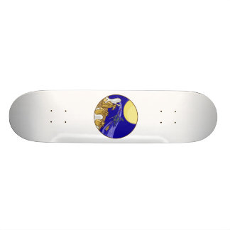 Ghosts Witch Full Moon Skate Boards