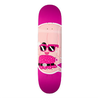 GHOSTTOON™ Beverly Hilson Pink Skateboard deck