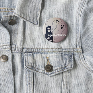 Ghoul and ghost pin