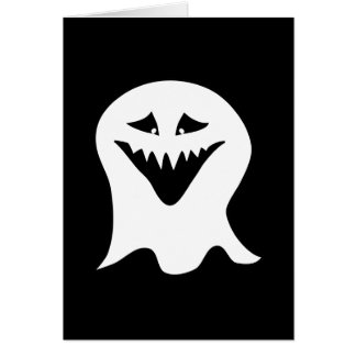 Ghoul. Black and White. Card