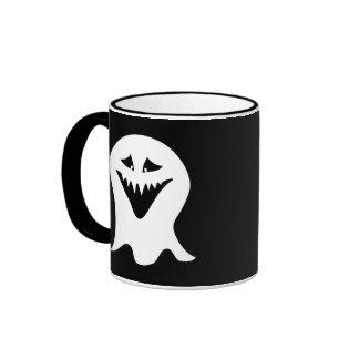 Ghoul. Black and White. Coffee Mug