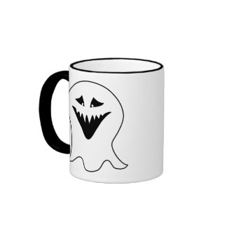 Ghoul Black and White Mugs