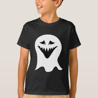 Ghoul. Black and White. T-Shirt