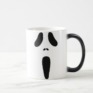 Ghoul Face 11 Oz Magic Heat Color-Changing Coffee Mug