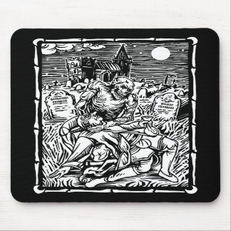 Ghoul Feeding Mousepad
