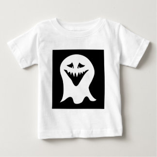 Ghoul Ghost. Black and White. Baby T-Shirt