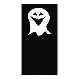 Ghoul Ghost. Black and White. Card