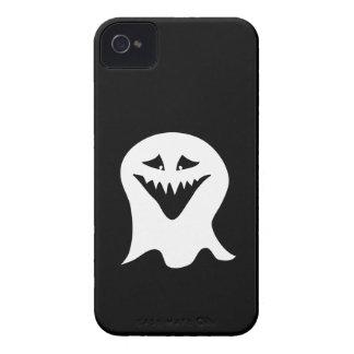 Ghoul Ghost. Black and White. iPhone 4 Cases