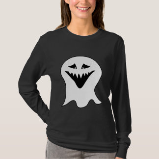 Ghoul Ghost. Black and White. T-Shirt