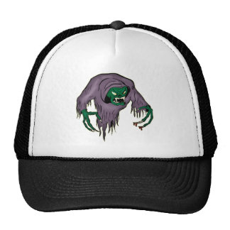 Ghoul Monster Mesh Hats