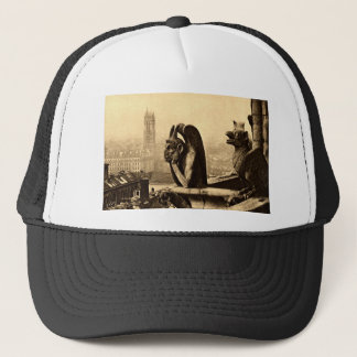 Ghoul Notre Dame, Paris France 1912 Vintage Trucker Hat