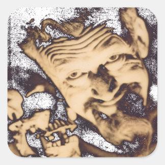 Ghoulardi (W/Skull-2) Customizable Stickers Sheet