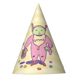 Ghoulie Gimme Chocolate Party Hat