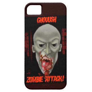 Ghoulish Zombie Attack iPhone 5 Cases