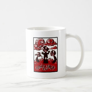 Ghouls Night Out Basic White Mug