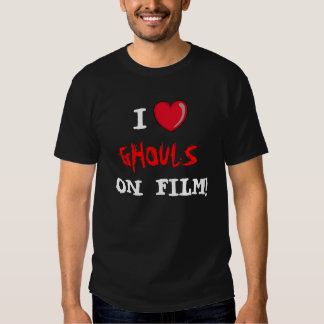 Ghouls on Film! Tee Shirts