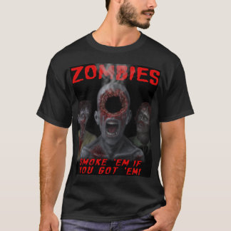 Ghoulzone Zombies - seiyge - Dark T T-Shirt