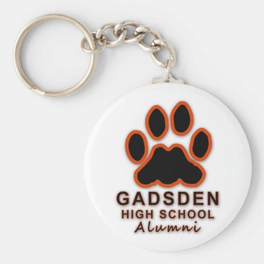 GHS-Gadsden High School Alumni Basic Round Button Key Ring