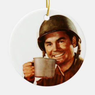 GI Cuppa Joe Christmas Ornament