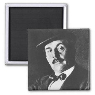 Giacomo Puccini (1858-1924) 1924 (photolitho) (b/w Magnet