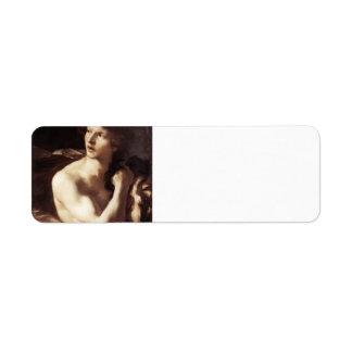 Gian Bernini- David with the Head of Goliath Return Address Label