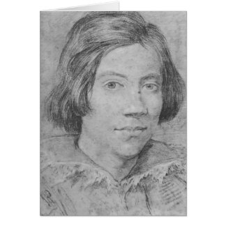 Gian Lorenzo Bernini: Portrait of a Young Man Greeting Card