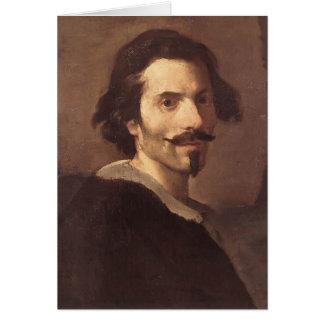 Gian Lorenzo Bernini-Self-Portrait as a Mature Man Greeting Card