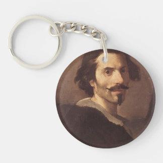 Gian Lorenzo Bernini-Self-Portrait as a Mature Man Key Chains