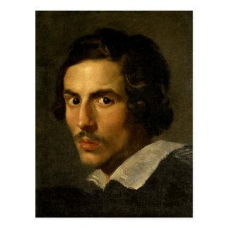 Gian Lorenzo Bernini- Self Portrait as a Young Man Postcard