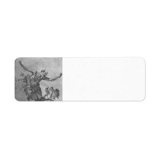 Gian Lorenzo Bernini: St. Jerome Return Address Label