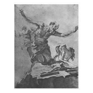Gian Lorenzo Bernini: St. Jerome Postcard