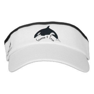 Gianna and Trua custom visor