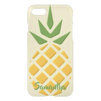 Giant 3D Pineapple, Optional Personalization iPhone 8/7 Case