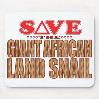 Giant African Land Snail Save Mouse Pad