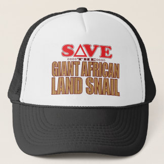 Giant African Land Snail Save Trucker Hat