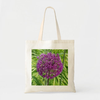 Giant Allium Flower Tote Bag