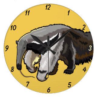 giant anteater clock