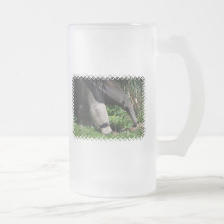 Giant Anteater Photo Frosted Beer  Mugs
