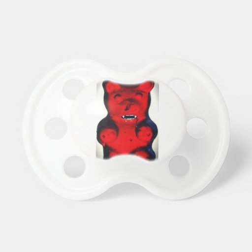 Giant Blood Sucking Candy Bear Pacifiers