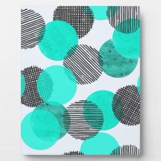 Giant Blue Dots Plaque