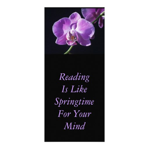 GIANT BOOKMARK PERSONALIZED RACK CARD