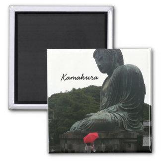 Giant Buddha in Kamakura Magnet