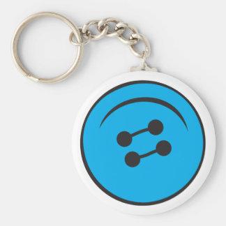 Giant Button Keychain