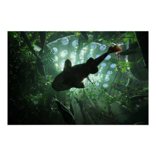 Giant Catfish Poster