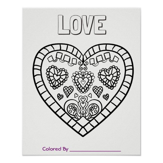 Giant Colouring Page Poster