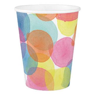 Giant Confetti Multi colour Paper Cup