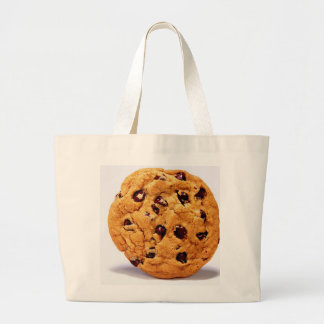 Giant cookie shopping tote bag